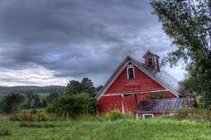 Red Barn - Pleasant Valley Road near Cambridge