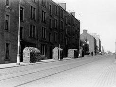 Strathmartine Road, Dundee, pictured during World War Photo: Dundee City Archives. Dundee City, Historical Photos, Old Photos, Scotland, Street View, World, Photograph, Memories, Historical Pictures