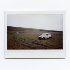"worm-god:  ""Cars (on Instax)  Norðausturvegur, Iceland  8/2017  """