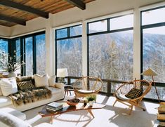 MOUNTAIN DREAM- Aerin Lauder in Aspen - Mark D. Sikes: Chic People, Glamorous Places, Stylish Things