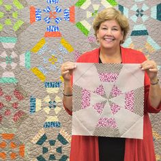 Windmill Quilt Tutorial from Missouri Star Quilt Co.@ Moda Cutting Table