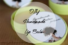 JuliCosmetics: DIY - Handmade Lip Balm