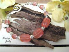 Rose Quartz Bracelet Gemstone Bracelet Beaded Bracelet