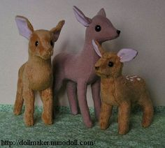 Plush Fawn pattern and directions