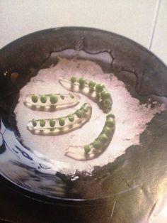 El Bulli's version of the pea in pod