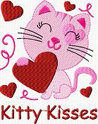 Freebies-FACE Book Has a valentine freebie set offered be sure to check it out and sign up for Cindy's facebook group to down load it is not this kitty but 4 Valentine designs- Infinite Love, Be my Valentine with lots of hearts, Valentine Cheers, Begin each day with a grateful heart. Enjoy the gifts! Thank You Cindy!