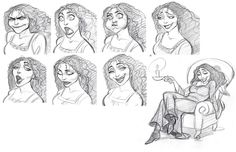 Mother Goethel expressions