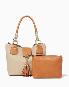 charming charlie | Wallaby Tassel Bag-in-Bag | UPC: 400000081670 #charmingcharlie
