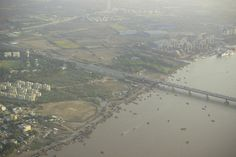 Aerial View of Surat City