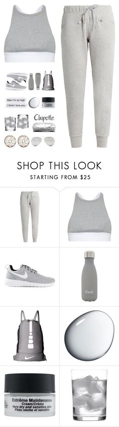 """""""5775"""" by tiffanyelinor ❤ liked on Polyvore featuring adidas, T By Alexander Wang, NIKE, S'well, Clé de Peau Beauté, Dr. Sebagh, Deborah Ehrlich and Sunny Rebel"""