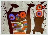 Mourlot 824 by Joan Miró