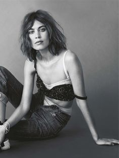 """""""Girl Most Likely"""" Alexa Chung for Glamour UK April 2016"""