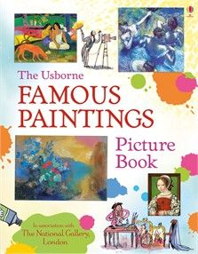 Famous paintings picture book - NEW FOR APRIL 2018