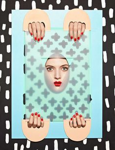 Eccentric Set Designs - Anna Lomax Creates Vibrantly Quirky Still Life-Like Portraits (GALLERY)