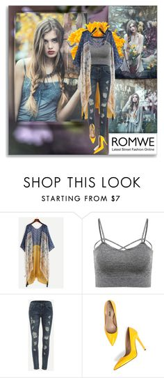 """""""Romwe"""" by shinee-pearly ❤ liked on Polyvore featuring Behance and Decree"""
