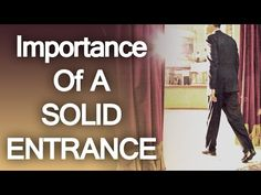 Importance Of A Solid Entrance | Scientific Data Backing Up The Power Of First Impressions (via @antoniocenteno)