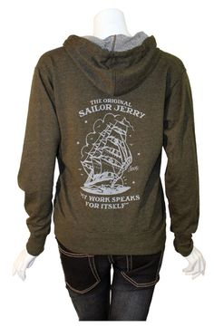 Women's Homeward Bound Hoodie by Sailor Jerry