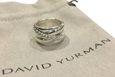 David Yurman Crossover Sterling Silver Ring / Size 6. Get the lowest price on David Yurman Crossover Sterling Silver Ring / Size 6 and other fabulous designer clothing and accessories! Shop Tradesy now