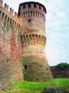 https://flic.kr/p/JR44pL   La torre cilindrica   Torre cilindrica della Rocca di Soncino (Cr)