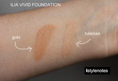"""So far, it is the best organic/green foundation that I have used."" — ILIA Vivid Foundation reviewed by @isabellabrusati   https://iliabeauty.com/vivid-foundation  #makeup #review #ILIAbeauty"