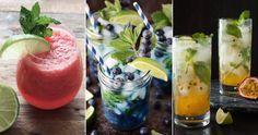 6 varianter av den klassiska mojiton | ELLE Decoration Processco Cocktails, Yummy Treats, Yummy Food, Mint Creams, Exotic Food, Mojito, Refreshing Drinks, Quick Recipes, Original Recipe