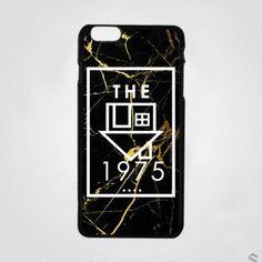Black Gold The 1975 Custom Logo iPhone Cases Case