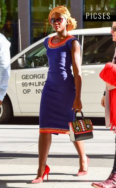 Lupita Nyong'o from October 2016 Horoscopes African Wear, African Women, African Fashion, Modest Fashion, Love Fashion, African Traditional Dresses, My Black Is Beautiful, African Beauty, Well Dressed