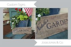 Wood+Pallet+Signs   ... Decor Pallet Sign Tutorial and Cottage Sale!! The Making of the Sign