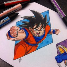 Goku Tattoo Design by Hamdoggz on DeviantArt