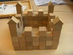 kasteel van blokken - Google zoeken