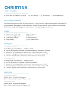 Personal Care Resume Sample  Employment    Personal