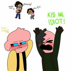 Cute Drawlings, Cute Piggies, Neon Wallpaper, Ship Art, My Friend, Character Art, Anime, Fan Art, My Favorite Things