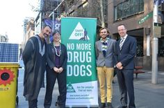 The Greens introduced a bill this week to ban drug detection dogs in public spaces without a warrant.