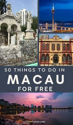 50 FREE things to do in Macau. Among them, Tap Seac Gallery is at the northeast end of Tap Seac Square and is an excellent free art venue. #visitmacao #macau #wowmacau #china #asia #thingstodo #freetravel #free