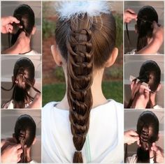 DIY Knotted Ponytail Hairstyle Tutorial