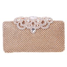 New Fashion Crown Diamond Purse Wallet Wedding Party Clutches for Women ** Unbelievable  item right here! : Handbag Clutches