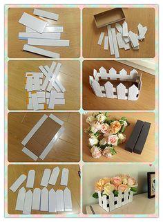 Valla DIY Ornamento de la flor DIY Proyectos | UsefulDIY.com