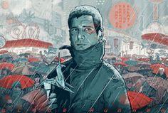 Blade Runner by Mateusz Kolek (illustration)