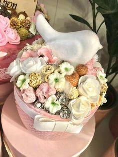 Pin by Anikó Bak on tavaszi dekorációk Teacup Crafts, Flower Costume, Sweet Box, Easter Wreaths, Flower Boxes, Hobbies And Crafts, Craft Fairs, Flower Art, Tea Cups