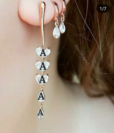 Alphabet Letter Crafts, Alphabet Letters Design, Alphabet Images, Letter R Tattoo, Women Jewelry, Fashion Jewelry, Gold Jewelry, Jewellery, Cute Baby Couple