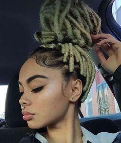 Blonde Faux Locs