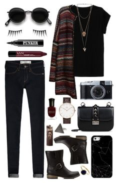 """Untitled #251"" by clary94 on Polyvore featuring Abercrombie & Fitch, Isabel Marant, Leon & Harper, Forever 21, Givenchy, NYX, Acne Studios, Deborah Lippmann, Valentino and Casetify"