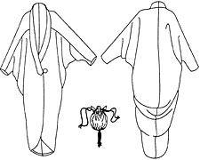 Folkwear Patterns #503 Poiret Cocoon Coat