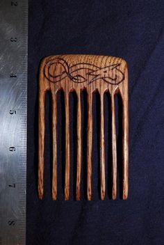 Wood Viking comb!