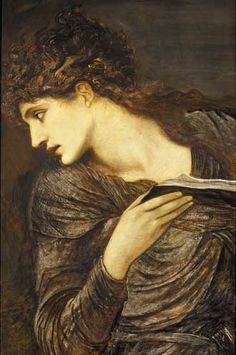 Study for the Head of Nimue by Edward Burne Jones