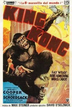 """King Kong (1933) """"King Kong"""" de Merian C. Cooper, Ernest B. Schoedsack - tt0024216"""