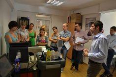 Stefania Berceanu, sefa departamentului nostru tehnic, prezinta participantilor la Scoala de Vara Magister operatiunile de vanzare in #retail prin solutia noastra #software SmartCash POS.  #scoaladevara Magister #2013