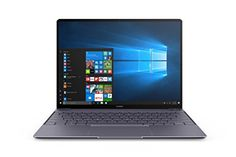 """Huawei MateBook X Signature Edition 13"""" Laptop, Office 365 Personal Included, 8+256GB / Intel Core i5 / 2K Display, MateDock v2.0 included (Space Grey) - At just 12.5mm thick and 2.31 lbs., the HUAWEI Mate Book X challenges what it means for a notebook to be thin, light, and finless. Featuring an unprecedented 88% screen-to-body ratio, 4.4mm narrow bezels, and Dolby Atoms Sound System, the Mate Book X gives users an exceptional visual and audio ex..."""