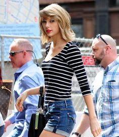 I loved Taylor's long hair, but this haircut is so cute on her!