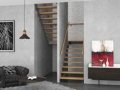 Model Århus - Trappeeksperten Aarhus, New Homes, Stairs, Space, Model, House, Inspiration, Home Decor, Stair Design